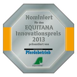 EQUITANA Siegel 2013 Nominiert