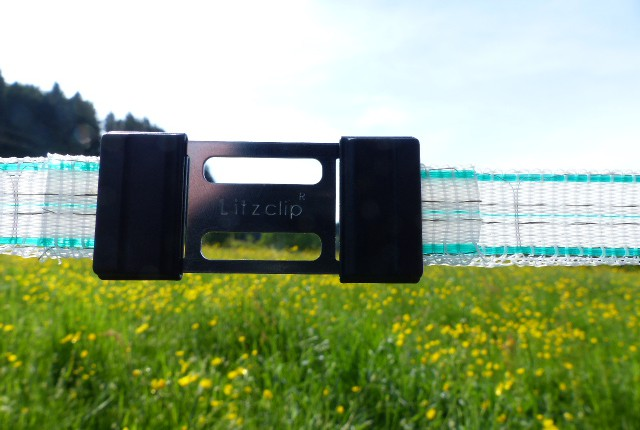 Litzclip 20 mm bandkontaktdon
