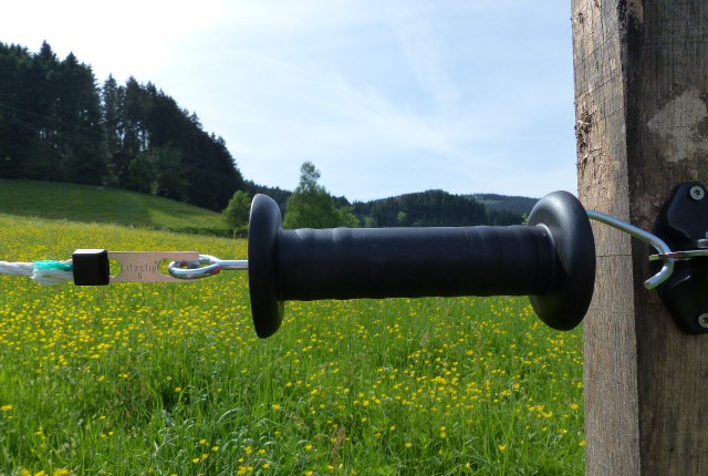 Litzclip Grindkoppling med kabel- och tvinnad tråd
