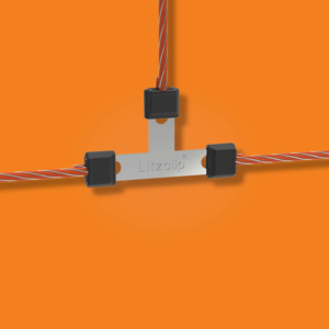 Litzclip Wireconnector T for willow net