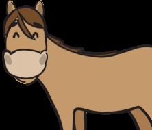 Litzclip Weidezaun Verbinder Pferd